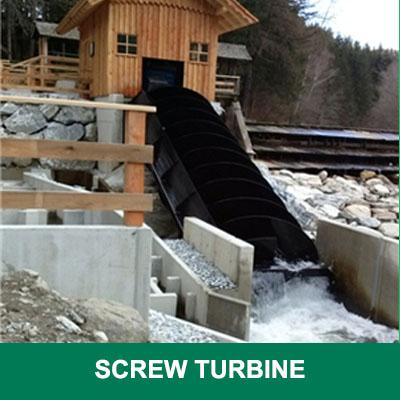 screw turbine